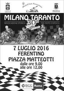 Volantino Milano Taranto 2