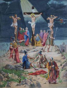 Crocifissione (1933 opera di don Carlo Coppotelli)